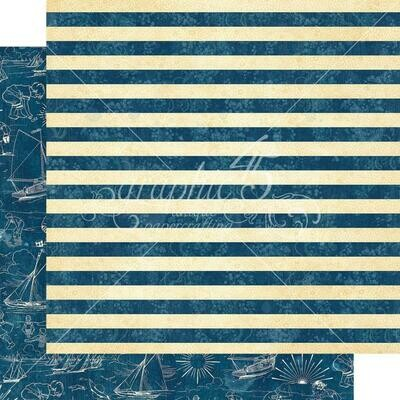 Graphic 45 Sun Kissed Double-Sided Cardstock 12
