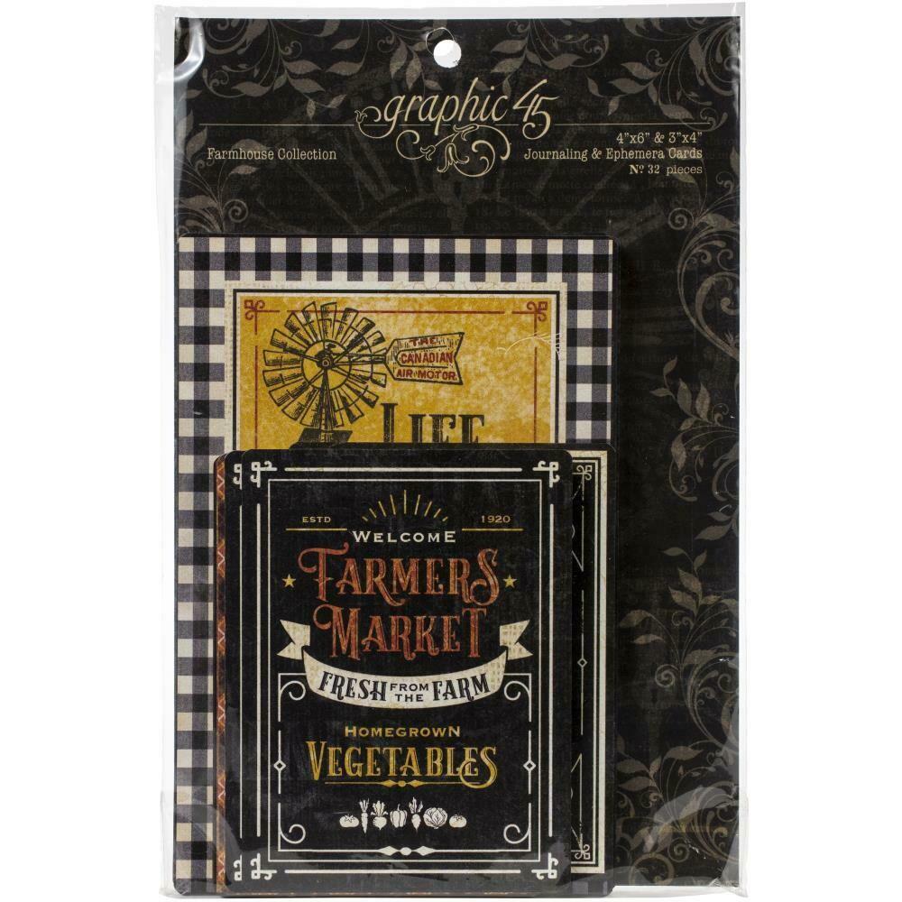 Farmhouse Ephemera Cards by Graphic 45