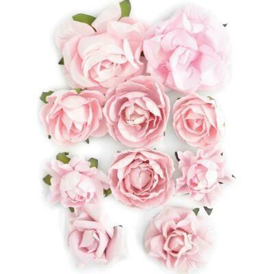 Kaisercraft Paper Blooms 10/Pkg Fairy Floss, 1