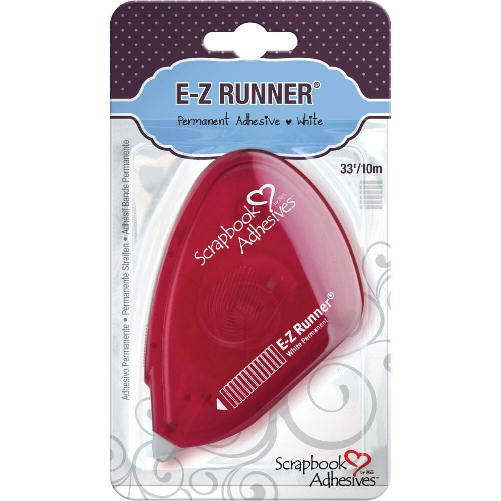 "Scrapbook Adhesives E-Z Runner Adhesive Permanent, .375""X33'"