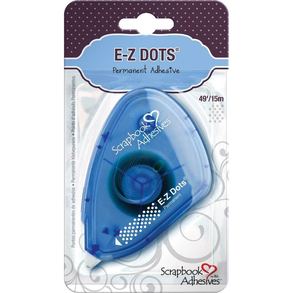 "Scrapbook Adhesives E-Z Dots Dispenser Permanent, .375""X49'"