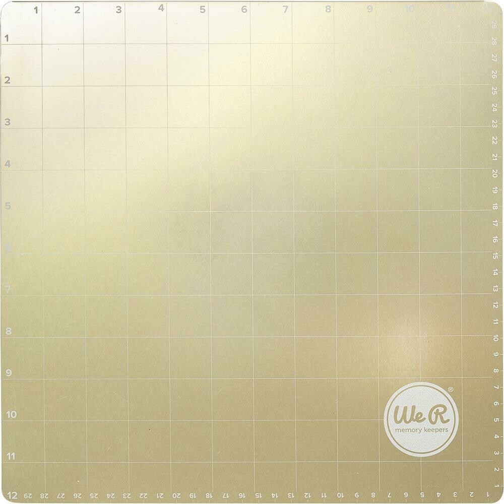 """We R Memory Keepers Foil Quill Magnetic Mat 12""""X12"""""""