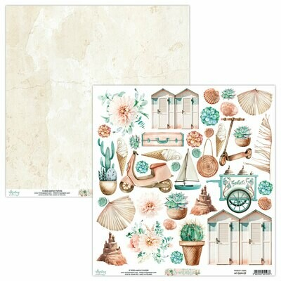 Suntastic by Mintay papers 12x12 Cut apart sheet