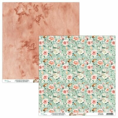 Mintay Papers COZY EVENING 12 x 12 sheet #4