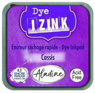 Aladine IZINK Dye Inkpad - Cassis