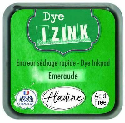 Aladine IZINK Dye Inkpad - Emeraude