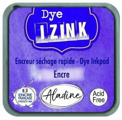 Aladine IZINK Dye Inkpad - Encrer
