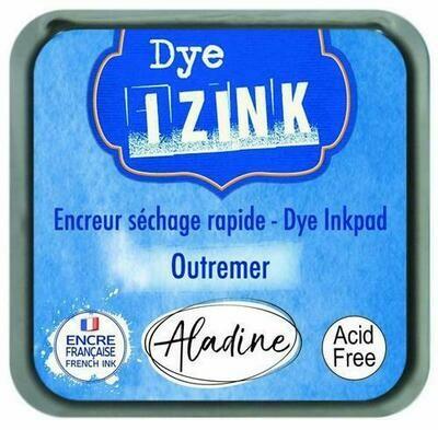 Aladine IZINK Dye Inkpad - Outremer