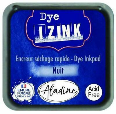 Aladine IZINK Dye Inkpad - Nuit