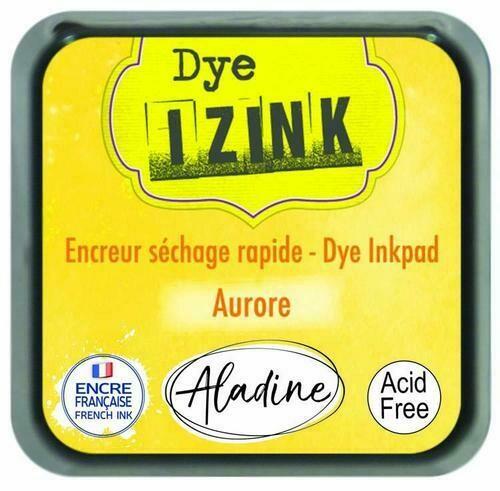 Aladine IZINK Dye Inkpad - Aurore