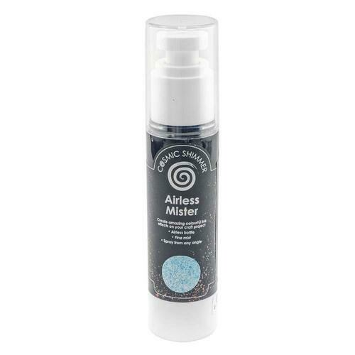 Cosmic Shimmer Airless Mister Colour: Maya Blue
