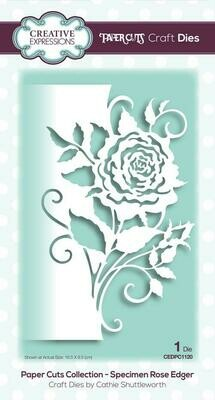 Creative Expressions Paper Cuts Collection - Rose