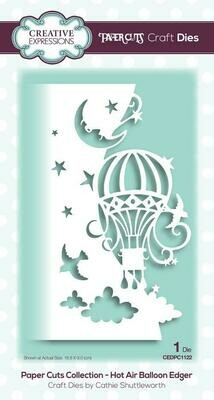 Creative Expressions Paper Cuts Collection - Hot Air Balloon