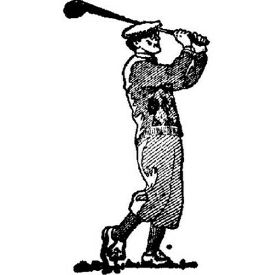 Emerald Creek Cling Stamp, Golfer
