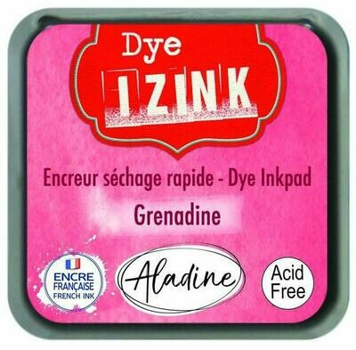 Aladine IZINK Dye Inkpad - Grenadine