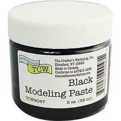 Crafter's Workshop Modeling Paste 2oz Black