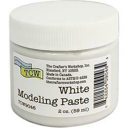 Crafter's Workshop Modeling Paste 2oz White