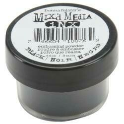 ColorBox Mix'd Media Inx Embossing Powder .5oz Black