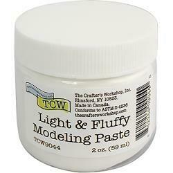 Crafter's Workshop Modeling Paste 2oz Light & Fluffy
