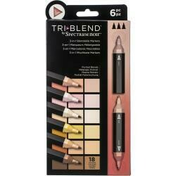 Spectrum Noir Triblend Markers 6/Pkg Portrait Blends