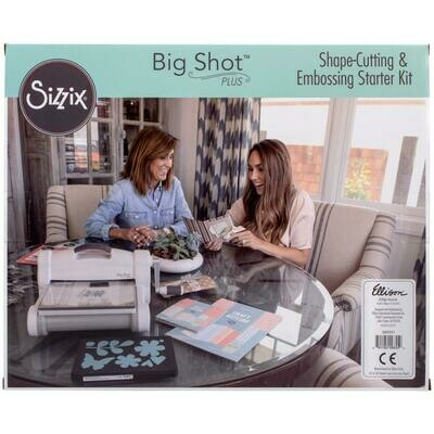 Sizzix Big Shot Plus Starter Kit (US Version) White W/Gray