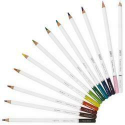 Nuvo Watercolor Pencils 12/Pkg Brilliantly Vibrant