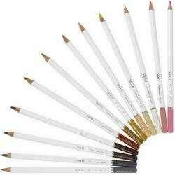 Nuvo Watercolor Pencils 12/Pkg Hair & Skin Tones