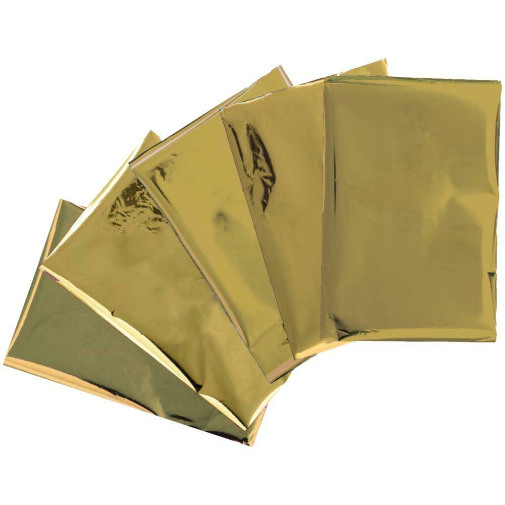 "Heatwave Foil Sheets 4""X6"" 30/Pkg Gold"