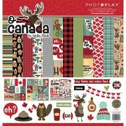 """PhotoPlay Collection Pack 12""""X12"""" O Canada"""