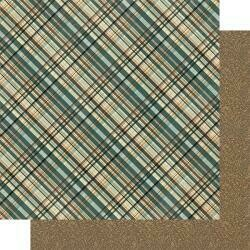 "Authentique Purebred Double-Sided Cardstock 12""X12"" #1 Multi Color Plaid"