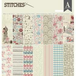 """Authentique Collection Kit 12""""X12"""" Stitches"""