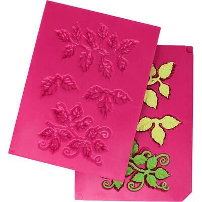 Heartfelt Creations Shaping Mold 3D Leafy Accents