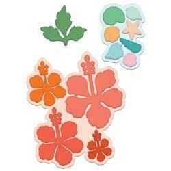 Heartfelt Creations Cut & Emboss Dies Tropical Hibiscus