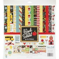 "Echo Park Collection Kit 12""X12"" Back to School"