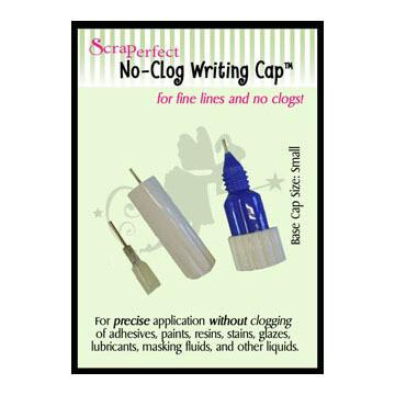 Scraperfect No-Clog Writing Caps - Small Size