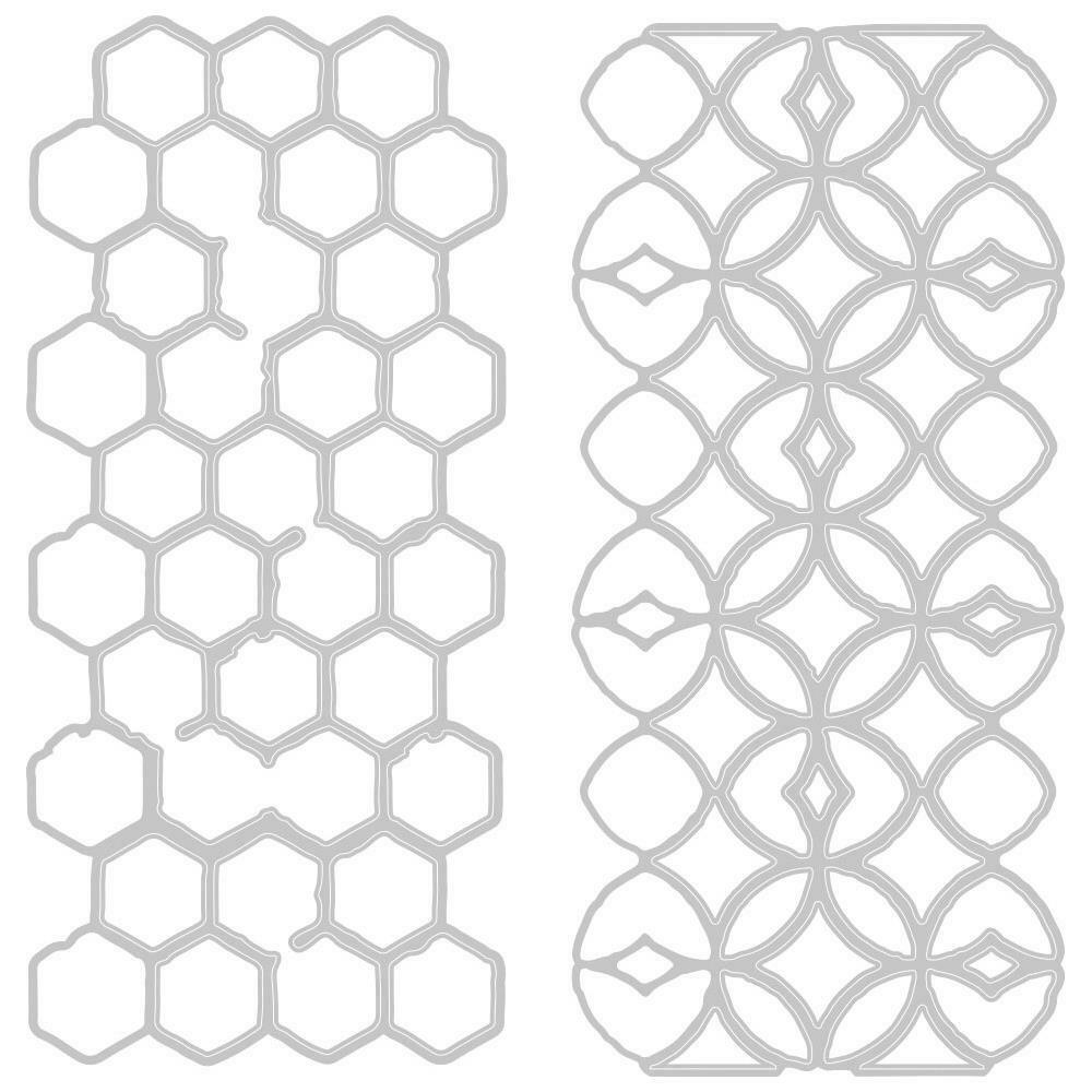 Sizzix Thinlits Dies By Tim Holtz Pattern Repeat