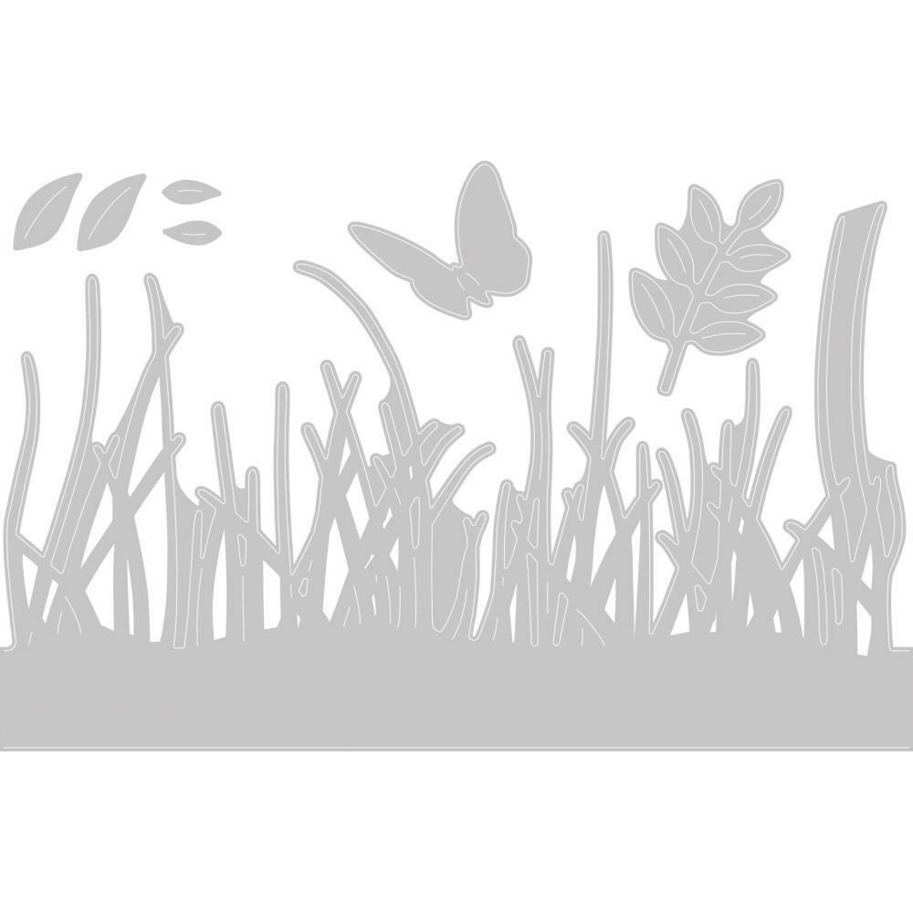 Sizzix Thinlits Dies By Sharon Drury 4/Pkg Springtime Borders