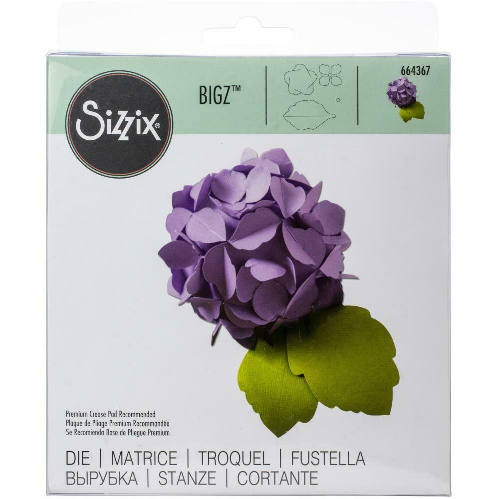 Sizzix Bigz Die Hydrangea
