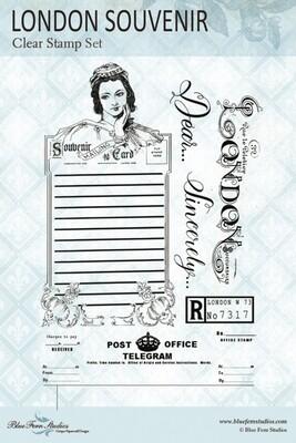 Bluefern Crafts Stamp - London Souvenir