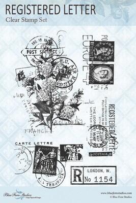 Bluefern Crafts Stamp -Registered Letter