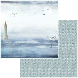 """Seaside Double-Sided Cardstock 12""""X12"""" Whales Tales"""