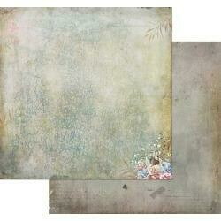 """49 and Market Tattered Garden Double-Sided Cardstock 12""""X12"""" Tattered Crackles"""