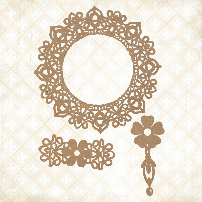 Jane's Memoirs - Chipboard - Emma's Treasures