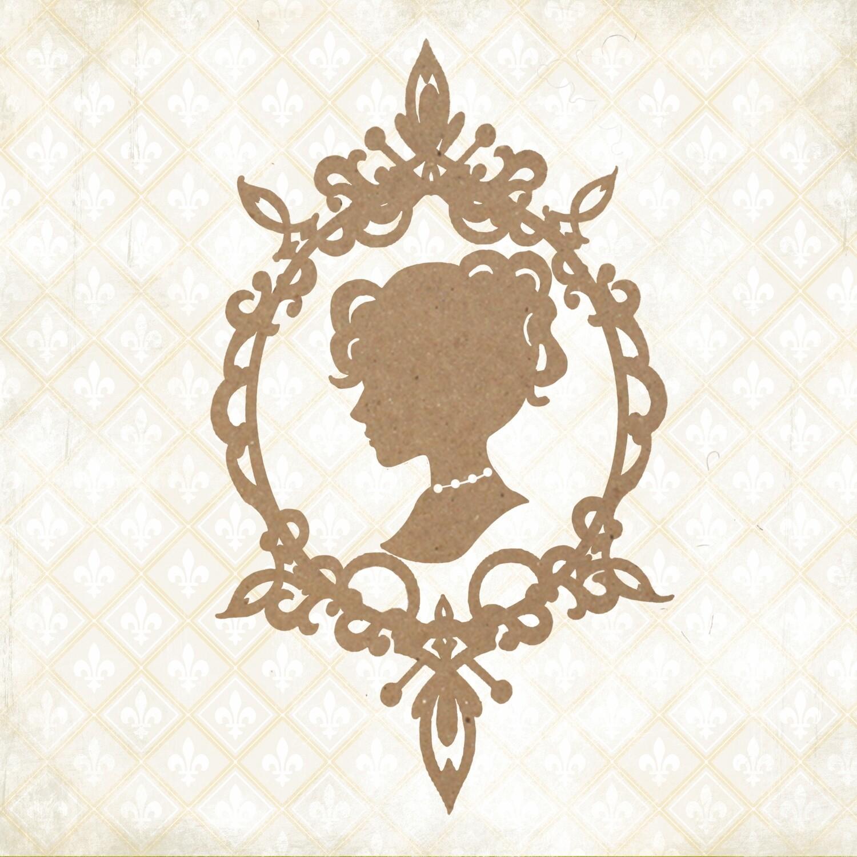 Jane's Memoirs - Chipboard - Jane's Cameo