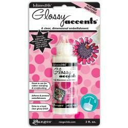 Ranger Inkssentials Glossy Accents 2oz Clear