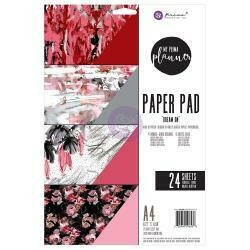 My Prima Planner Double-Sided A4 Paper Pad 24/Pkg Dream On, 4 Designs/6 Each
