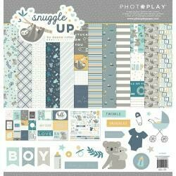 "PhotoPlay Collection Pack 12""X12"" Snuggle Up Boy"