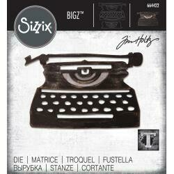 Sizzix Bigz Die By Tim Holtz Retro Type