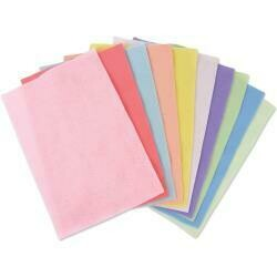 Sizzix Felt Sheets 10/Pkg Assorted Colors-Pastels