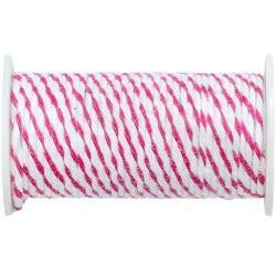 We R Memory Keepers Happy Jig Baker's Twine Wire 3yds Pink